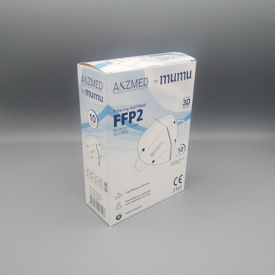Masques de Protection Respiratoire FFP2 boîte de 10 pièces